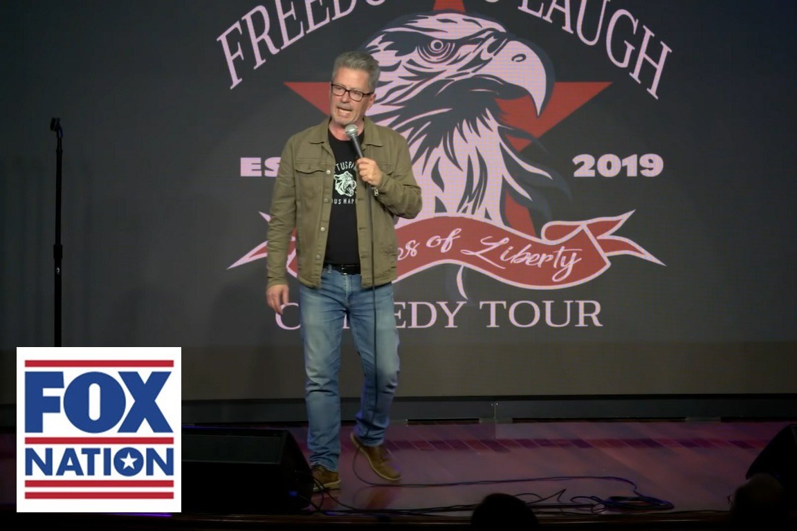 'Freedom to Laugh' Comedy Tour—Live AND on Fox Nation!