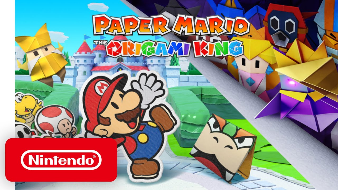 Paper Mario: The Origami King Review!