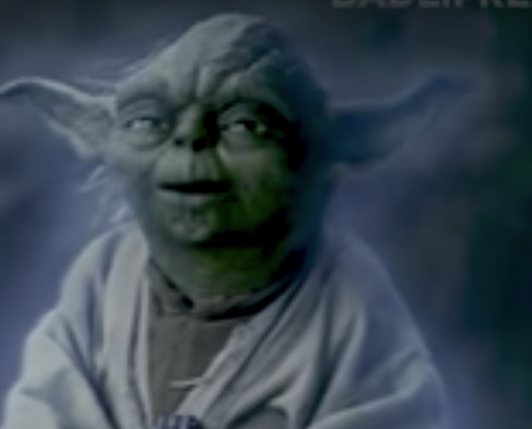 Yoda, 'My Stick!' [VIDEO]