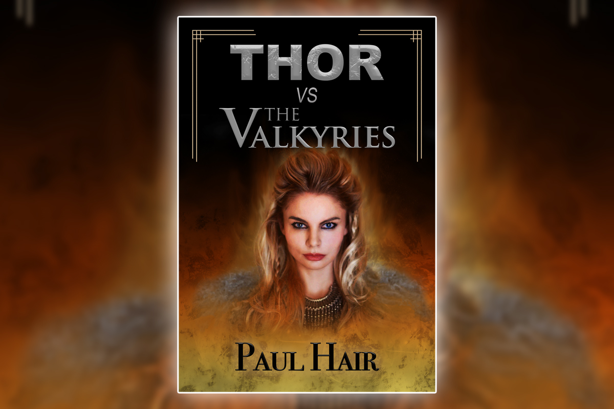 'Thor vs. the Valkyries' Cover