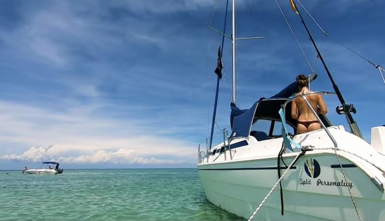 YouTubers Sail to Naturist Island & Make Us Jealous