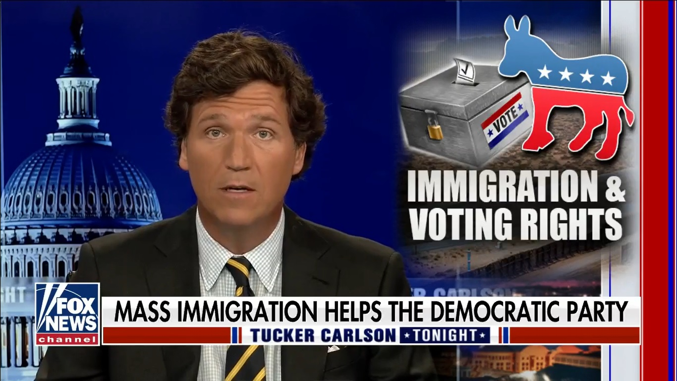 Tucker Exposes the Demographic Replacement of Americans