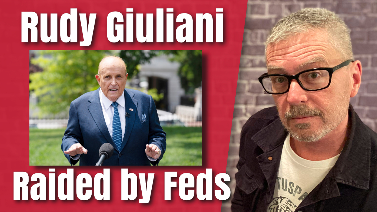 Rudy Giuliani Raided by the Feds. Ohhh, the Timing!