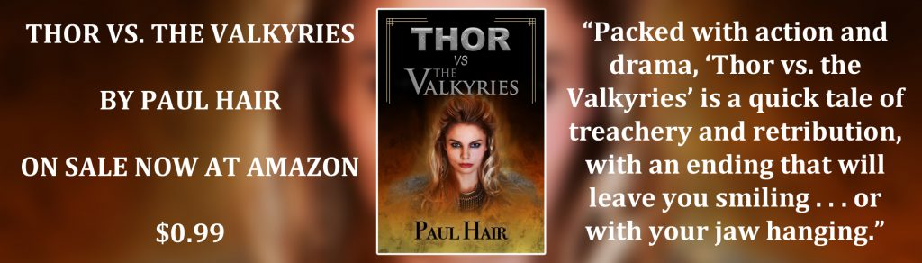 New Banner Ad for 'Thor vs. the Valkyries'