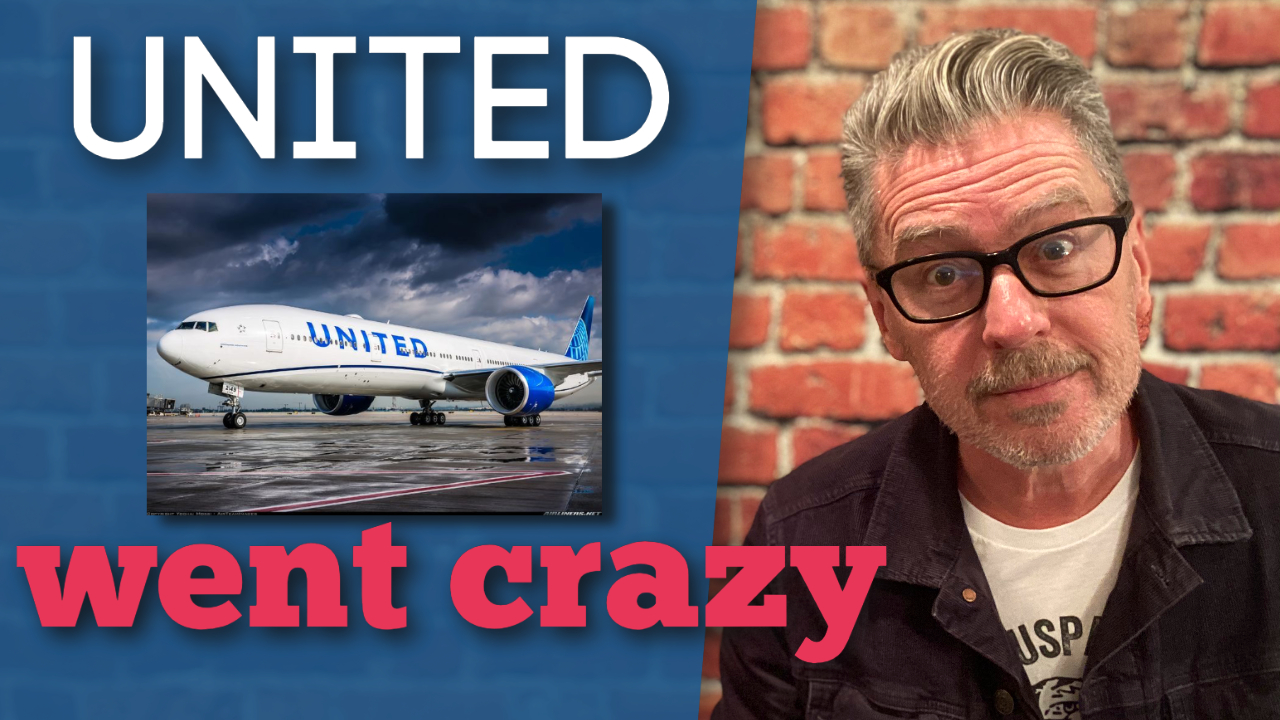 United Airlines Went Crazy
