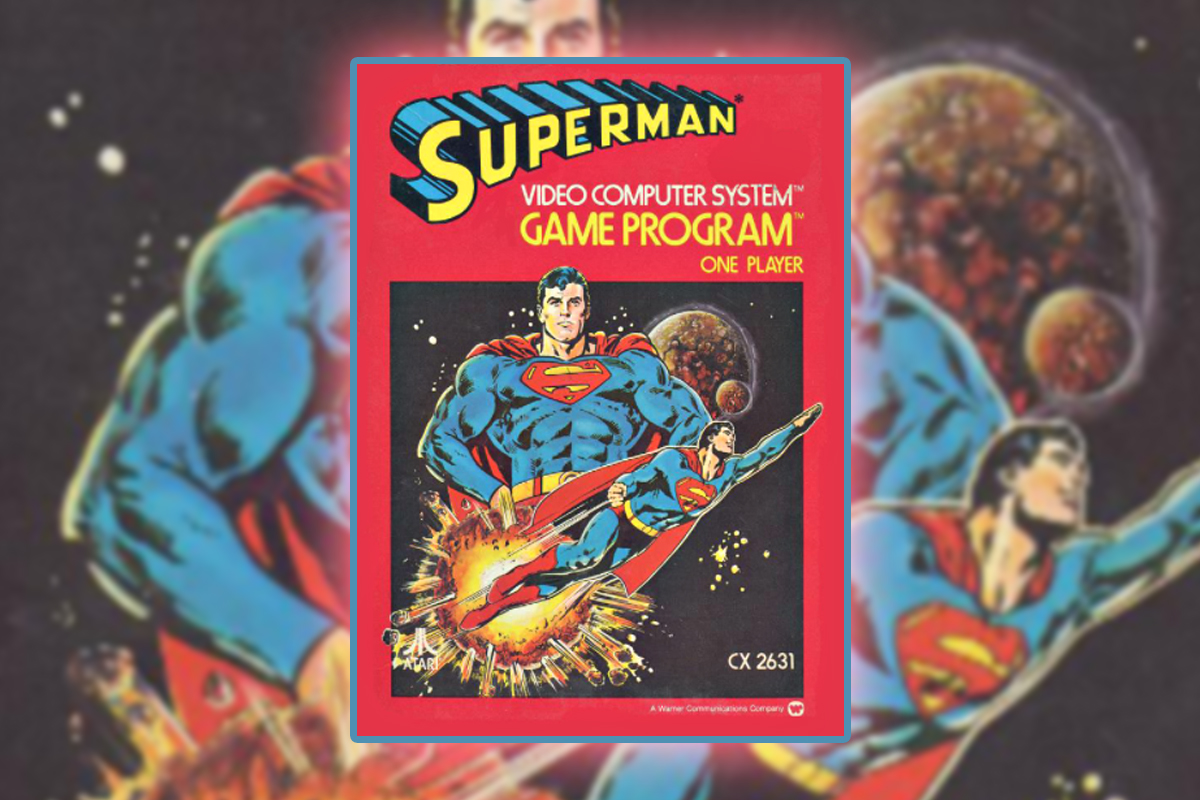 Superman for the Atari 2600 Was a Great Game