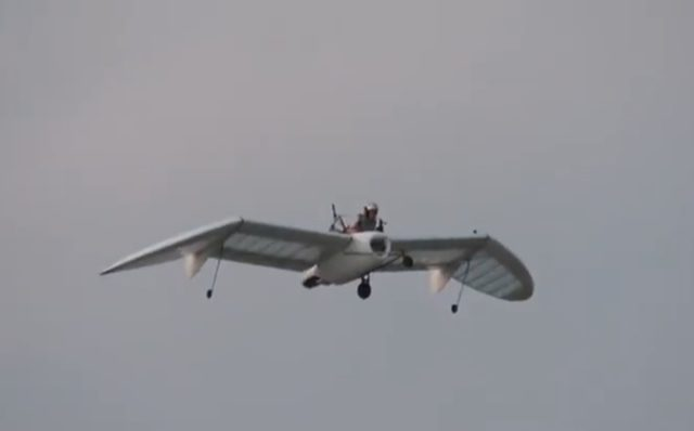 Someone Made a Working Version of the Glider from 'Nausicaa.' Badass!