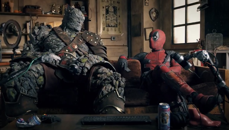 Ryan Reynolds as Deadpool Reacting to Ryan Reynolds's New Trailer for 'Free Guy'