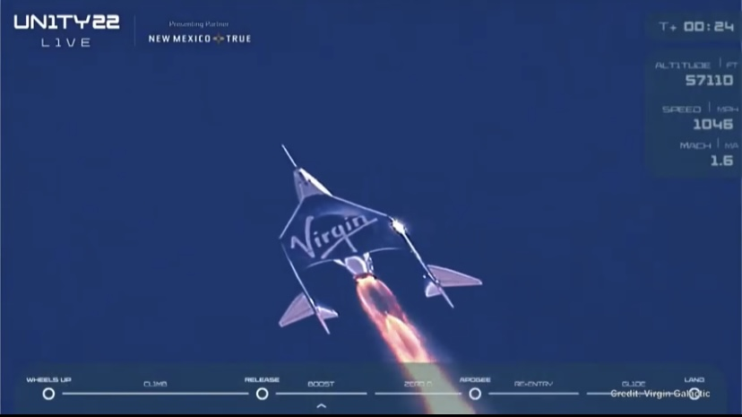 Virgin Galactic Goes to Space. We Got Highlights!